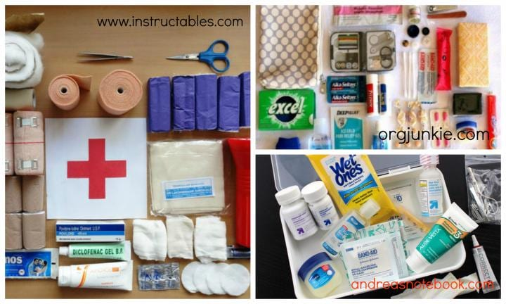 "2. COMPILE A DIY FIRST-AID CAR KIT TO SUIT YOUR NEEDS  <p>Standard first-aid kits can be a bit generic. Think about what you might need in an emergency and put together your own kid-friendly first-aid kit to keep in the car.</p>  <p>For instance: wet wipes, spare nappies, a spare pair of clean undies and hand sanitiser might be smart additions to the standard first-aid kit. <a href=""http://orgjunkie.com/?s=car+hacks"">Images via instructables.com, orgjunkie.com, andreasnotebook.com</a></p>"