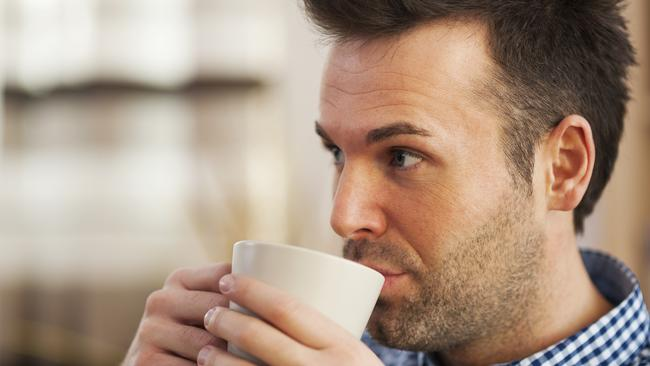 Morning brew ... studies have found caffeine helps promote hair growth. Picture: Thinkstock