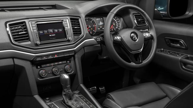The Volkswagen Amarok Ultimate goes without vital safety equipment. Picture: Supplied.