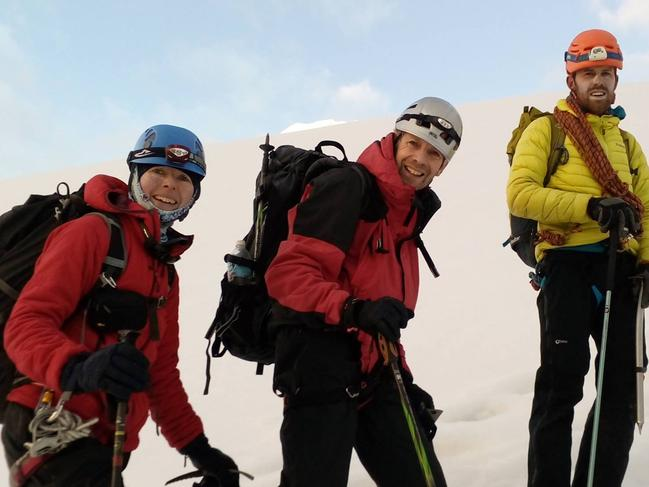Ruth McCance is believed to be among 8 climbers missing in India's Himalayas after reports of an avalanche. Image shows Ruth on previous climbing expedition Picture: Facebook