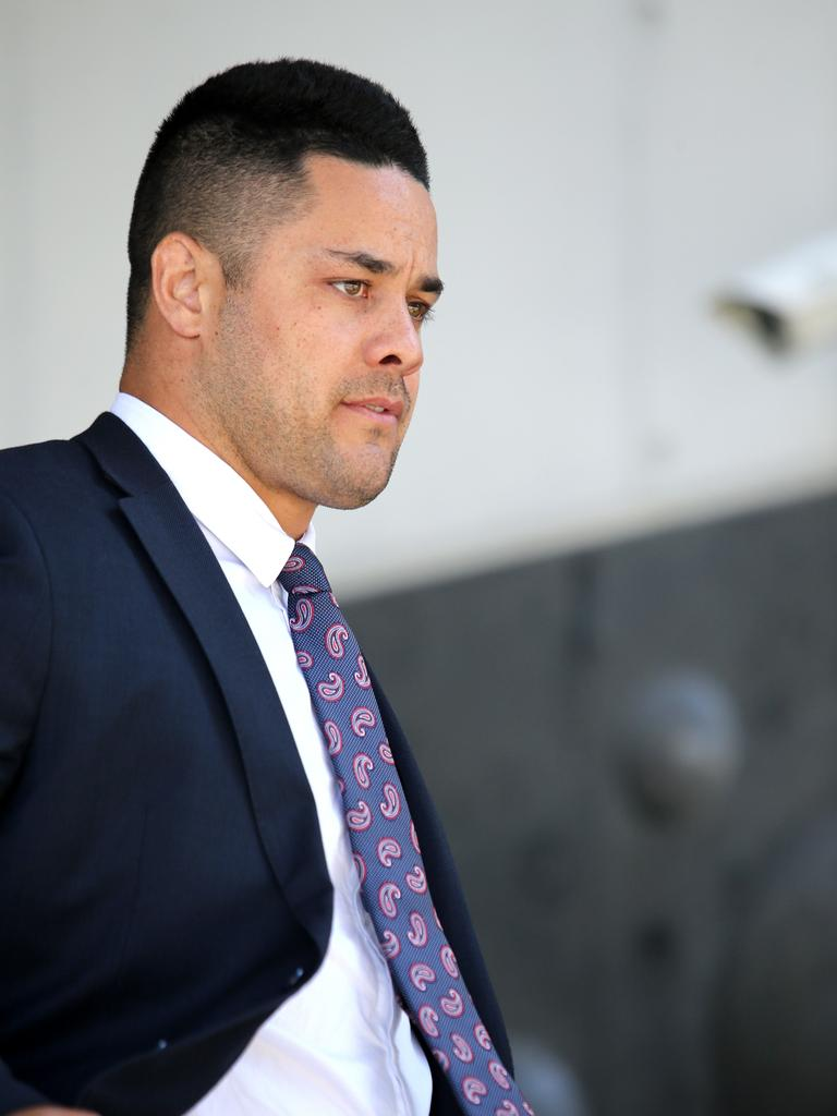 Jarryd Hayne denies the accusations. Picture NCA NewsWire / Peter Lorimer.
