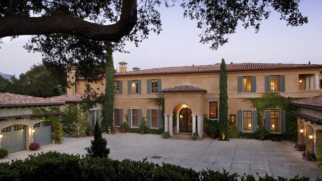 818 Hot Springs Rd, Montecito, California, 93108 United States. Supplied by Christie's International Real Estate.