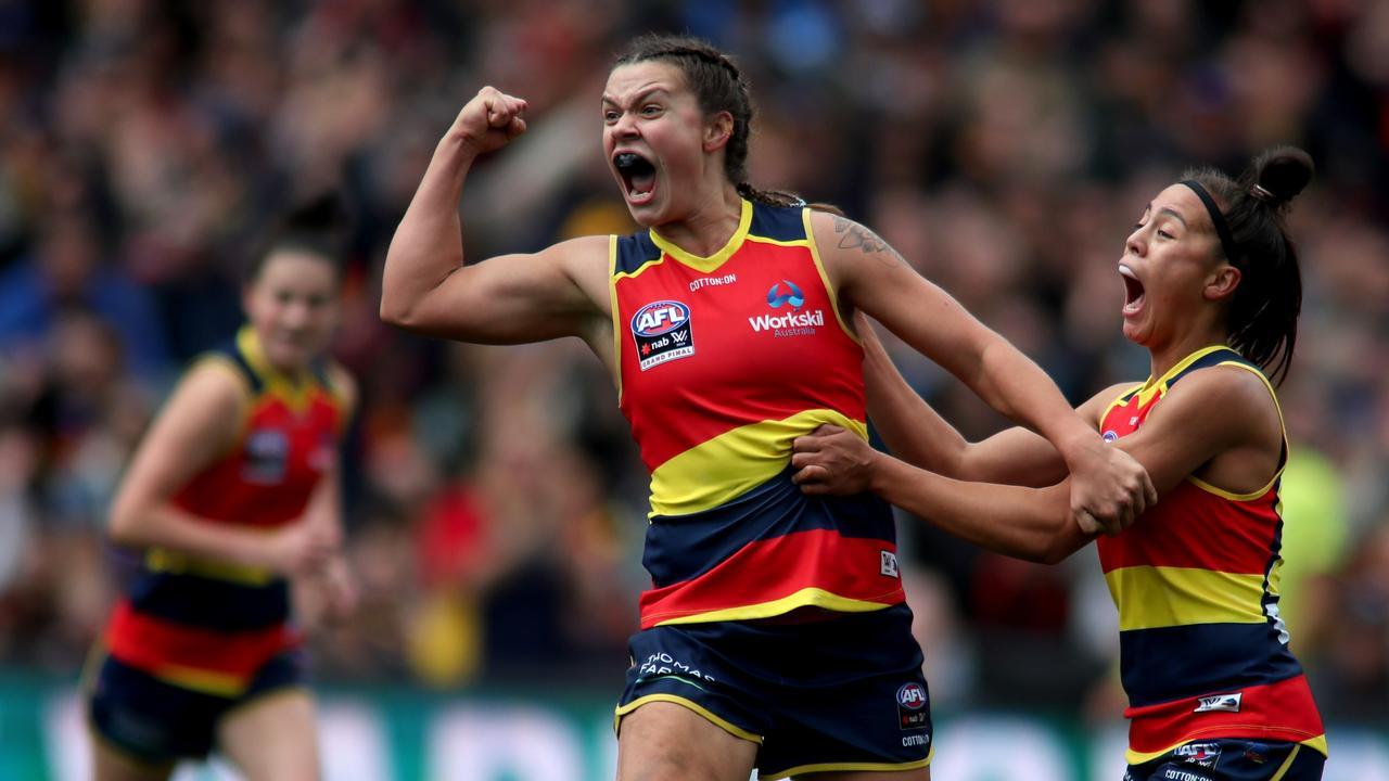 Anne Hatchard was an All-Australian in 2019. Picture: Kelly Barnes