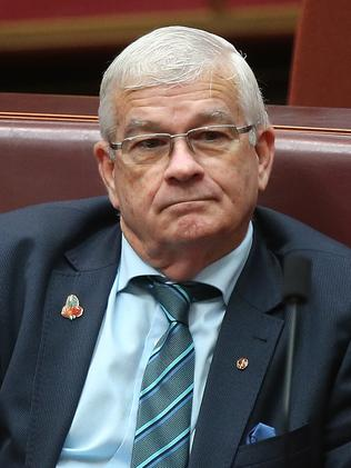 Senator Brian Burston is out of favour after supporting business tax cuts. Picture: Kym Smith