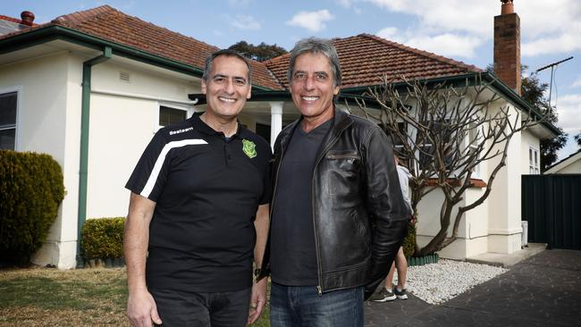 Brothers John (left) and Ed Cachia sold the home on behalf of their mum.