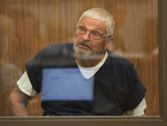 Nick Philippoussis appears at the San Diego court. Picture: AAP/Peter Mitchell