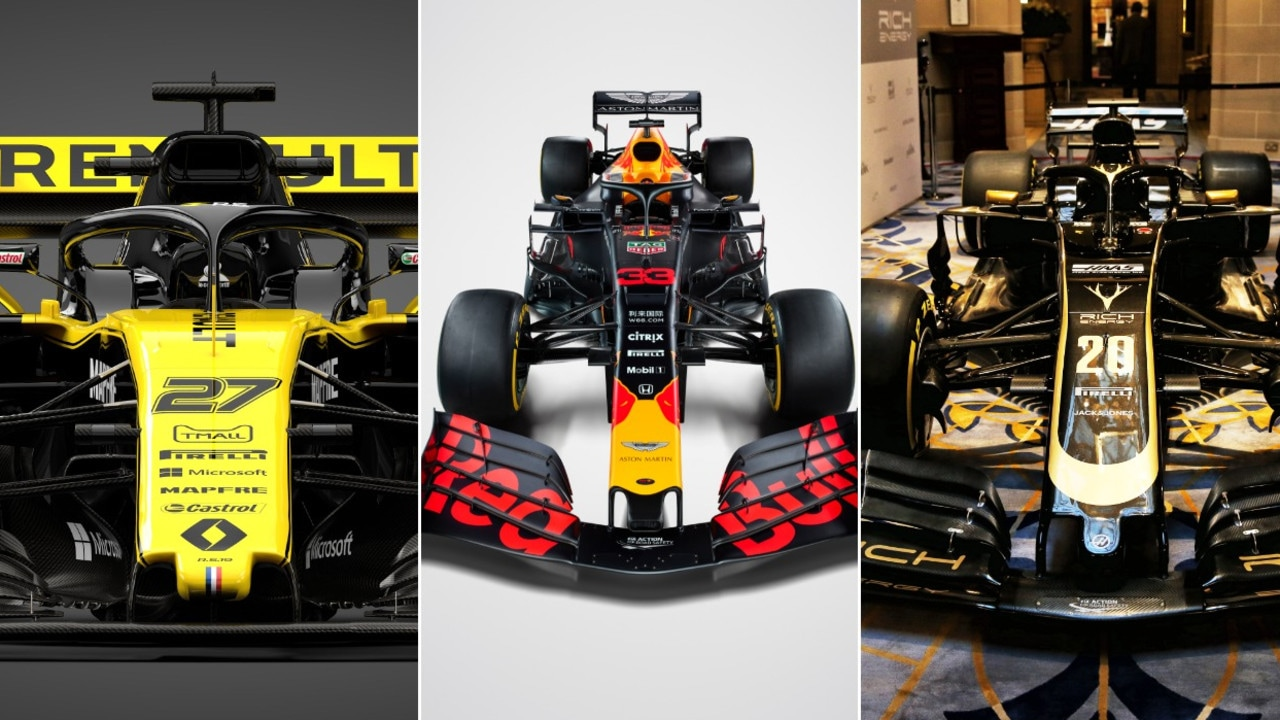 Which livery did we choose as No. 1?