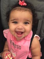 "Dream Kardashian is ecstatic she looks nothing like her mother... ""Happy baby @dream."" Picture: Rob Kardashian / Instagram"