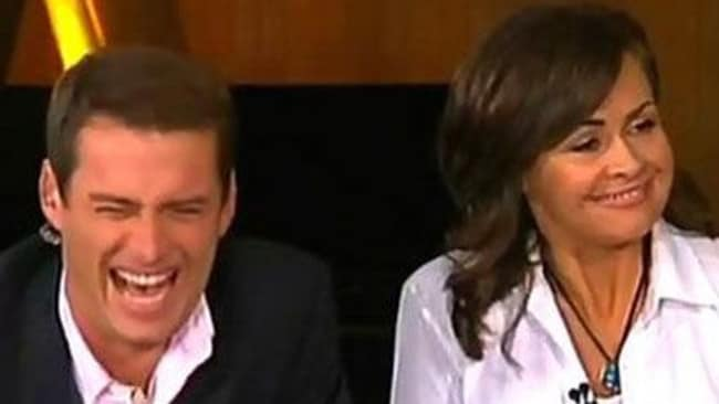 Karl Stefanovic, doing his best the morning after the 2009 Logies.