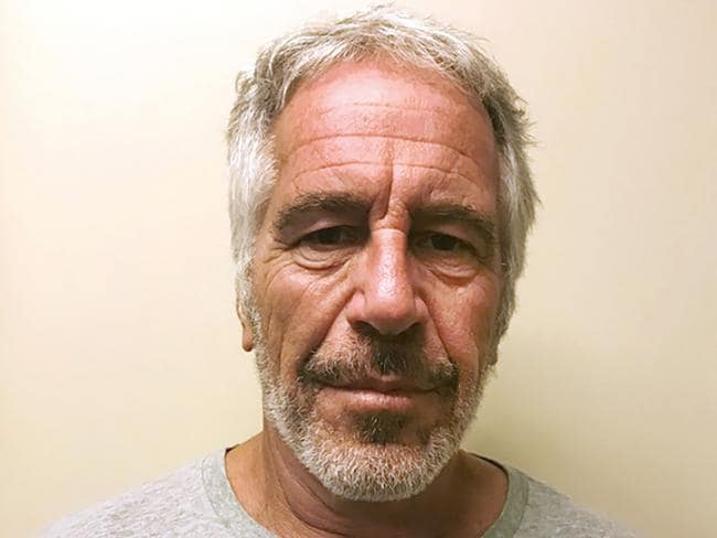 Photo provided by the New York State Sex Offender Registry shows Jeffrey Epstein, who was friends with Prince Andrew even after his conviction. Picture: AP, File