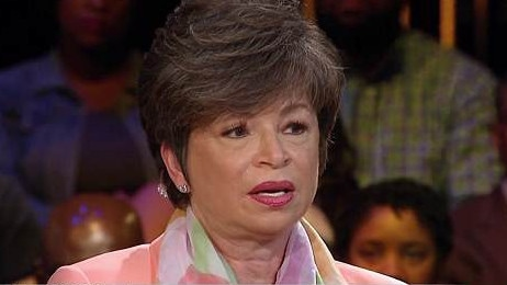Valerie Jarrett was the target of Roseanne Barr's racist attack. Picture: MSNBC