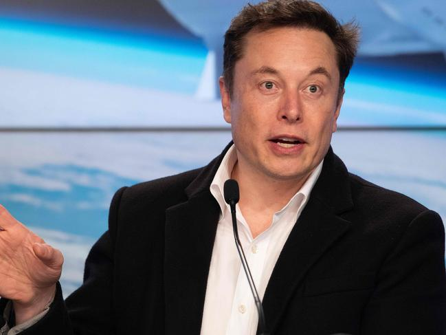 Elon Musk is one of a generation of 'space-nut' billionaires. Picture: Jim Watson/AFP