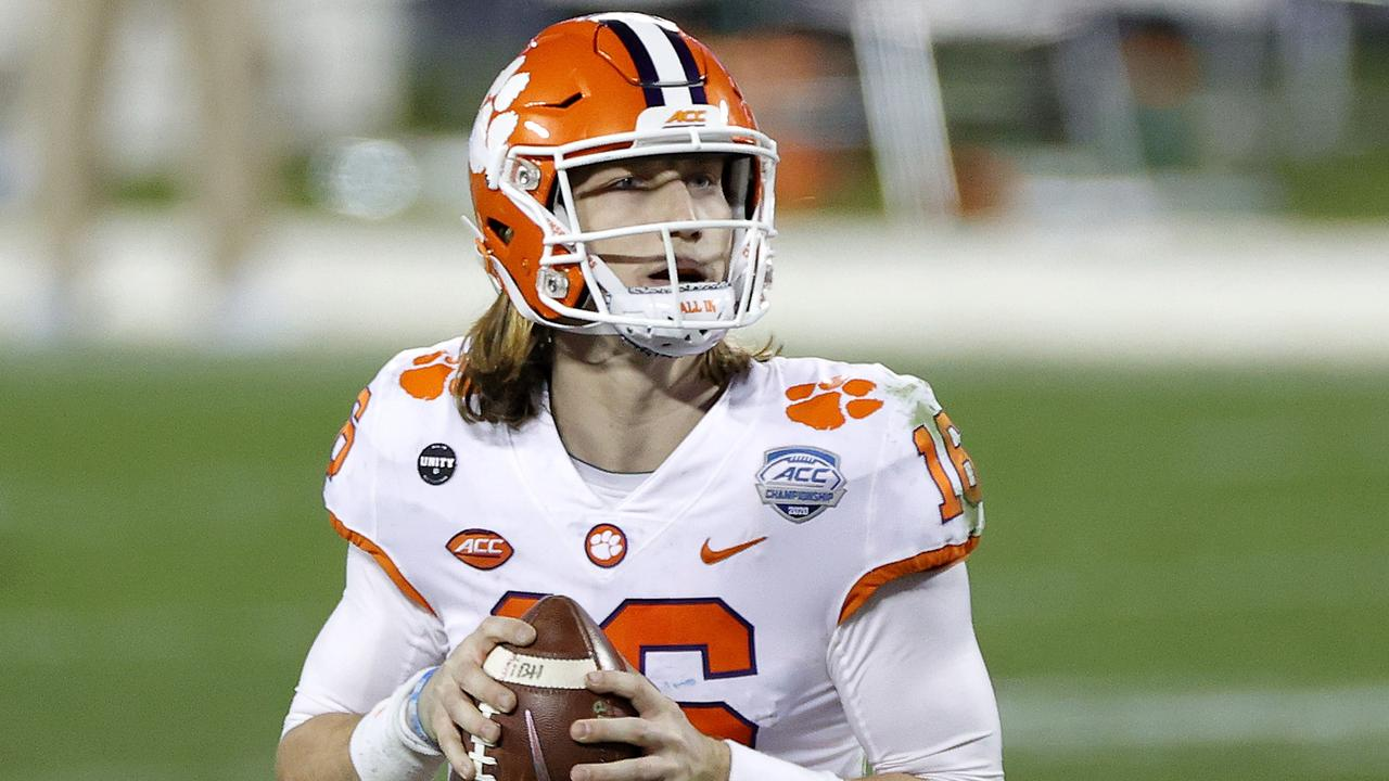 Unless something completely ridiculous happens, Trevor Lawrence will be in Jacksonville next season. Photo: Jared C. Tilton/Getty Images/AFP