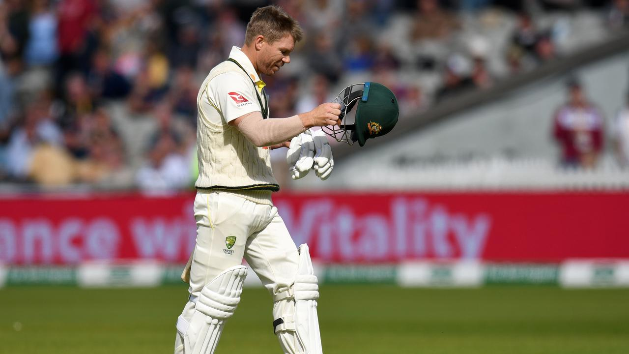 Warner has reached double figures once in eight innings.