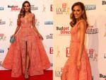 Rebecca Judd on the red carpet at the 2015 Logie Awards at Crown Casino in Melbourne. Picture: Julie Kiriacoudis / Tim Carrafa