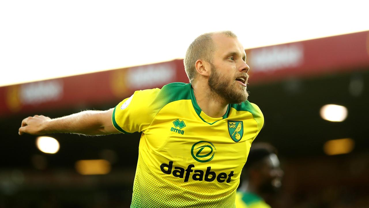 Canaries striker Pukki was the star of the show