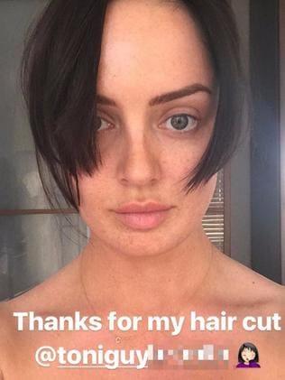 Chloe Morello Haircut Instagram Post Shames Toni And Guy For Hair Fail