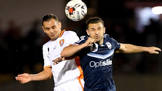 A New Zealand friendly will also hurt Wellington and rob Victory of Kosta Barbarouses (right). Picture: Getty Images