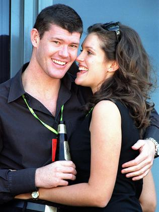 Malkah was once engaged to James Packer. Picture: Supplied