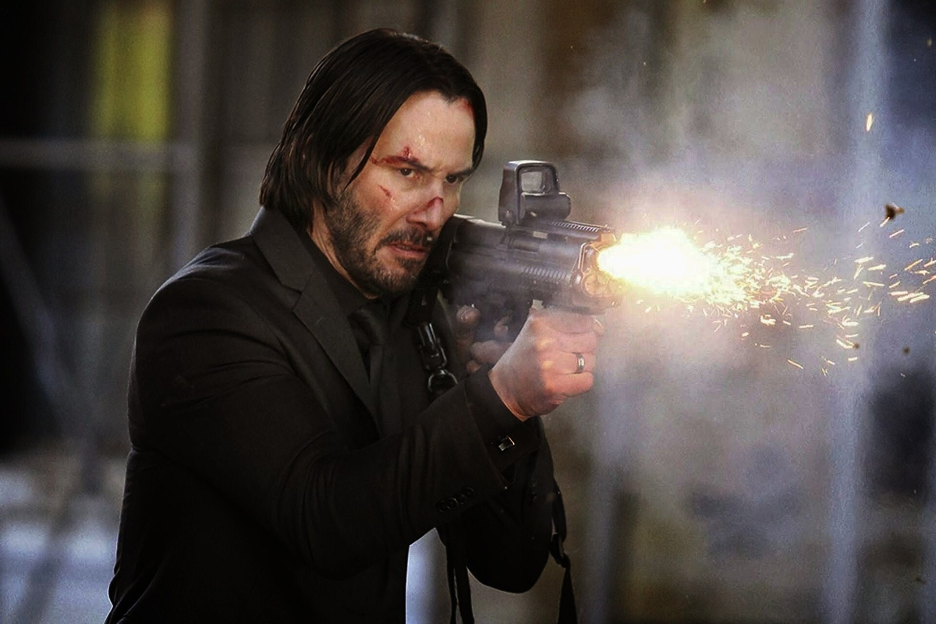 Watch Keanu Reeves Train With A Navy SEAL To Get Ready For