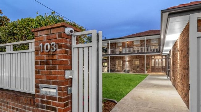 This home at 103 Mowbray Tce, East Brisbane sold last year for $3,410,000 to a family who wanted to be close to private school Churchie (Anglican Church Grammar School).