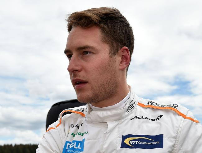 Stoffel hadn't outqualified teammate Fernando Alonso since September 2017.