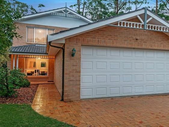 This duplex at 23A Mariam Place Cherrybrook, which is close to the train station sold for $1.07m in February