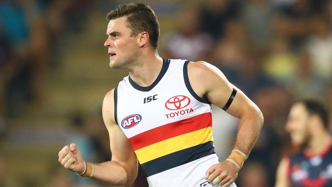 Brad Crouch of the Crows has been in solid form — is he a sneaky skipper selection option?