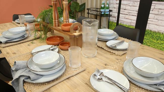 382323a081d9 Some of the dinnerware that will be available at Kmart from August 2.  Picture
