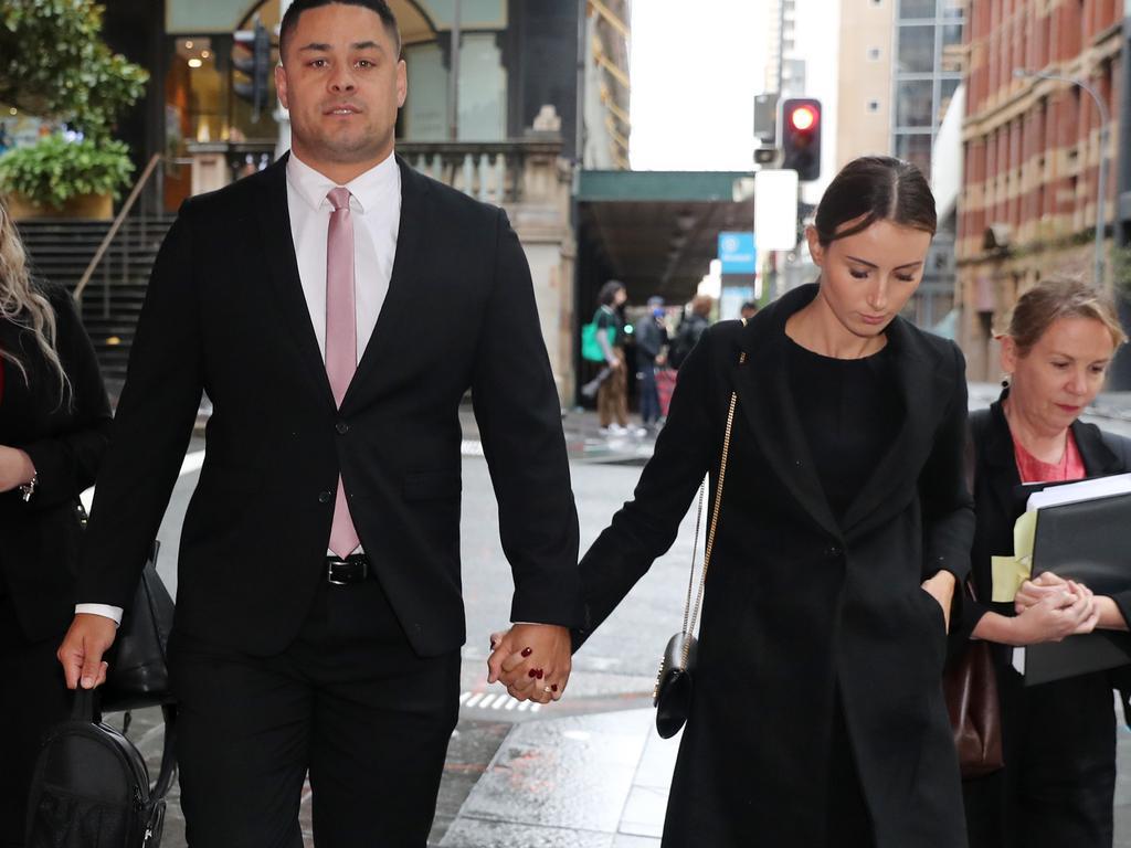 Jarryd Hayne wife Amellia Bonnici, court, sentence, NRL news 2021