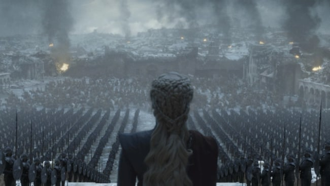The angry masses are gathering. Picture: HBO
