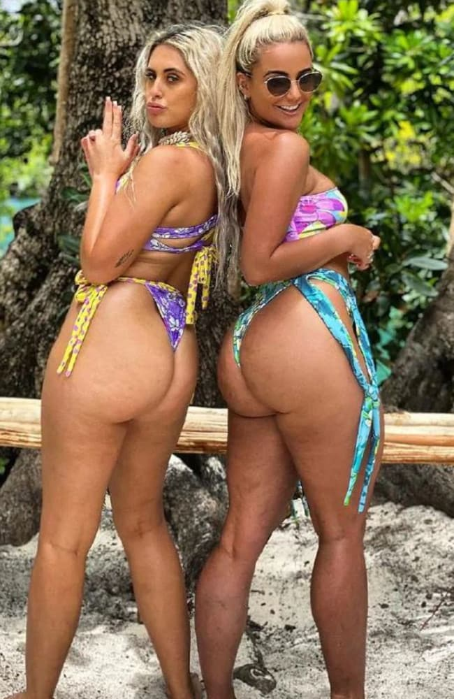 Ariella Nyssa and Karina Irby's were applauded by fans for being willing to share 'real' bikini photos of themselves Picture: Instagram/Ariella Nyssa