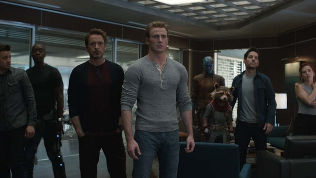 The  <i>Avengers: Endgame</i> squad.