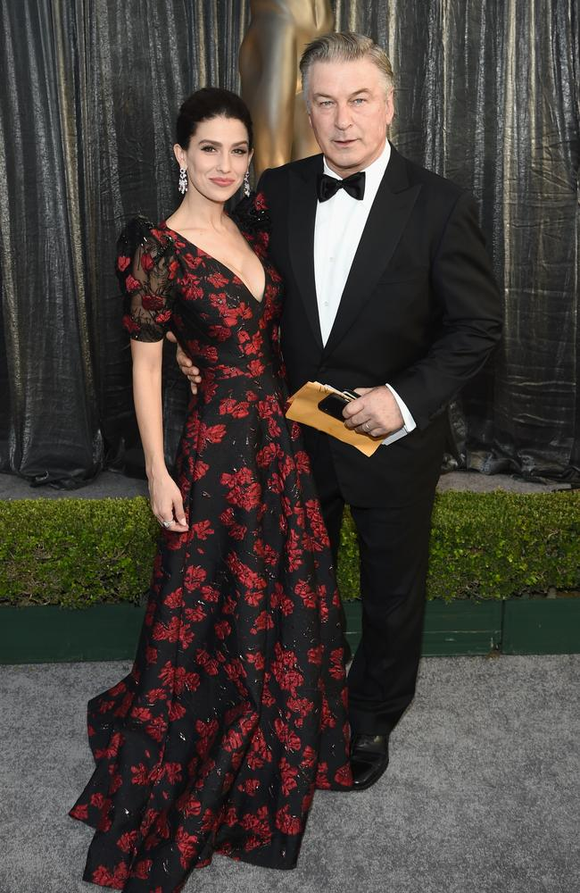 A-list couple Hilaria Baldwin and Alec Baldwin. Picture: Dimitrios Kambouris/Getty Images for Turner