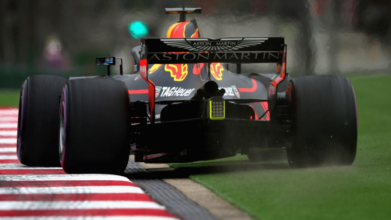 Ricciardo wasn't quite able to put a quick lap together in Practice 2.