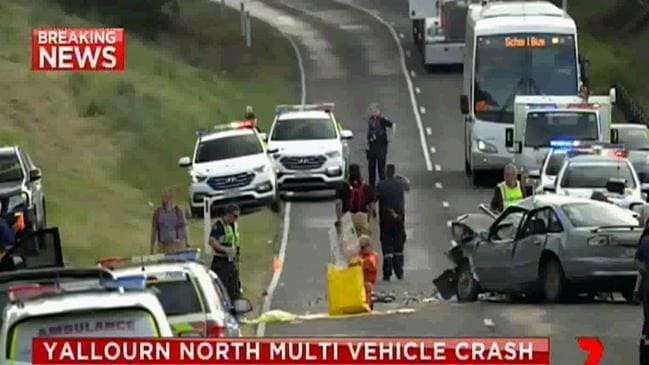 Five others were injured. Source: 7News.