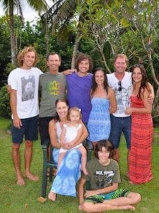 The whole Beitz family.