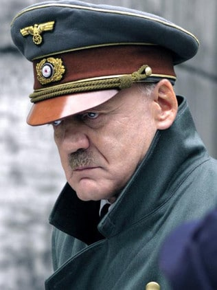 Bruno Ganz as Adolf Hitler in the 2004 film 'Der Untergang' The Downfall. Picture: Supplied