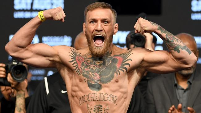 Floyd Mayweather Jr. v Conor McGregor - Weigh-in