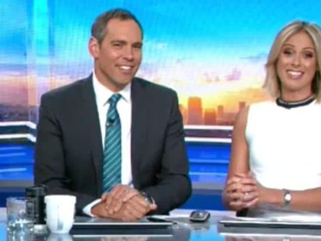 Brenton Ragless co-hosted Today with Sylvia Jeffreys over the Christmas break. Picture: Nine
