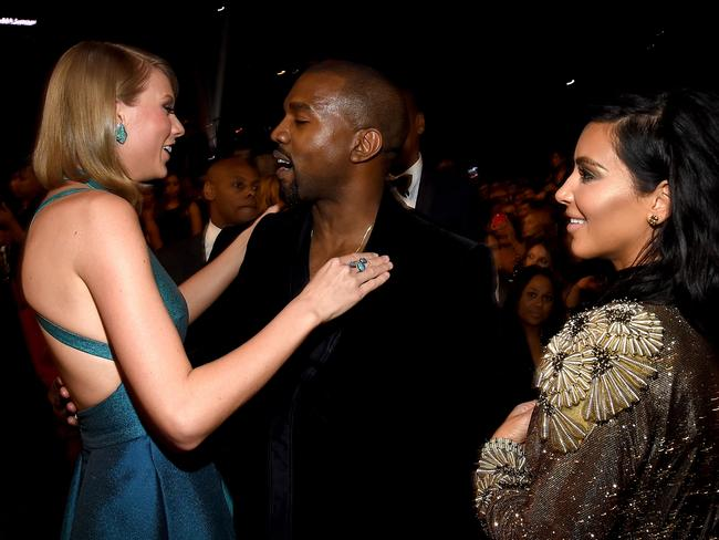 Swift has enjoyed her fair share of beef with the Wests.