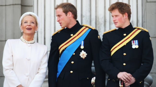 She'd rather rub shoulders with royals than fess up to her Aussie roots. Image: GETTY.