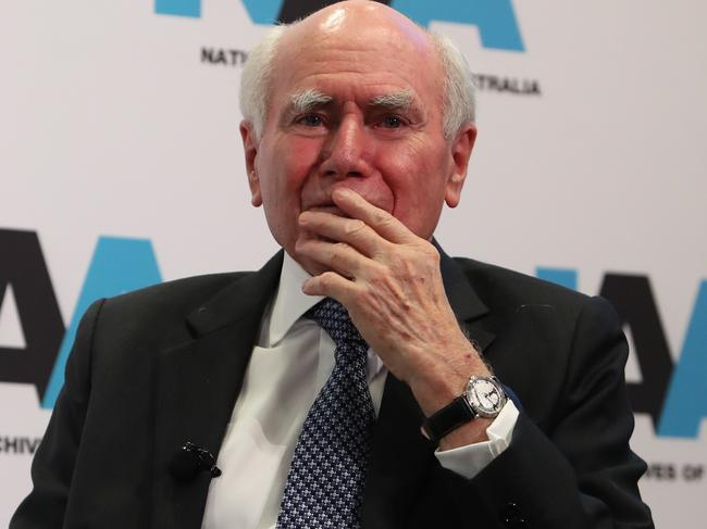 Former PM John Howard believes Scott Morrison can win the next election. Picture: Kym Smith