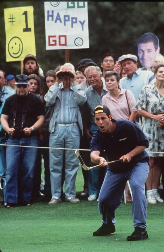 Adam Sandler in Happy Gilmore.