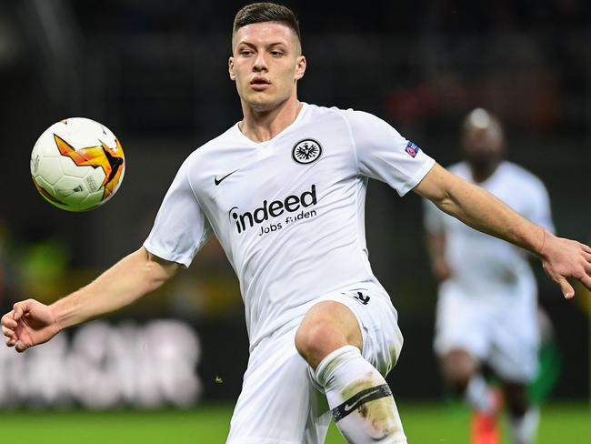 Luka Jovic joined Real Madrid after starring for Eintracht Frankfurt. (Photo by Miguel MEDINA / AFP)