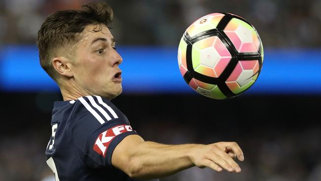 Marco Rojas is back at Melbourne Victory.