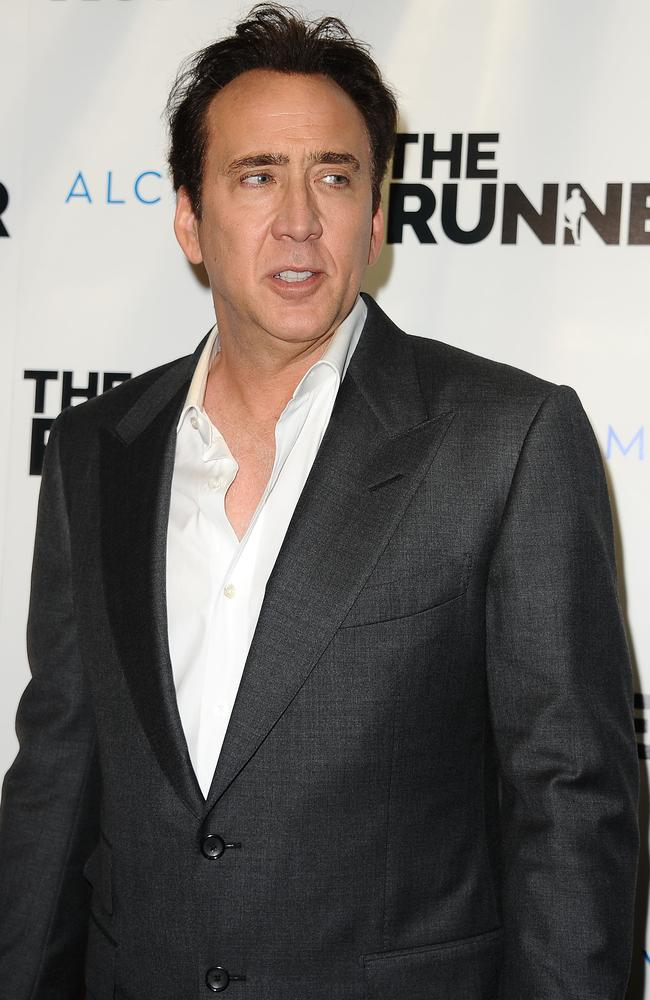 Nicolas Cage has had a rocky week. Picture: Jason LaVeris/FilmMagic