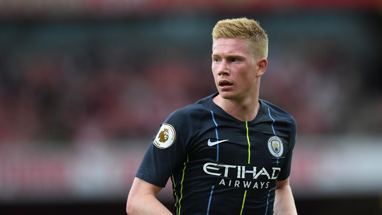 Kevin De Bruyne has barely featured for Manchester City this season after picking up an injury.