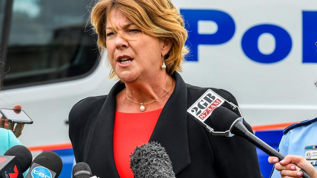 NSW Roads Minister Melinda Pavey has suggested electric shocks for truckies could reduce road fatalities. (Pic: Brendan Esposito)