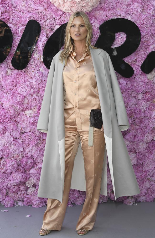 Kate Moss is a good friend of Eugenie's mum Sarah Ferguson